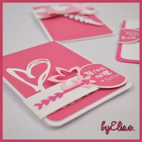"""Cartes cadeaux réalisées avec """"Mes petites découpes"""", découpes papier pour le scrapbooking à découvrir sur www.mespetitesdecoupes.fr"""